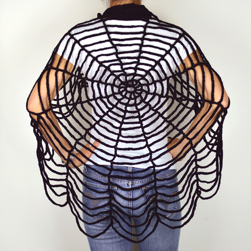 Crochet Spot Blog Archive Crochet Pattern Spider Web Shawl