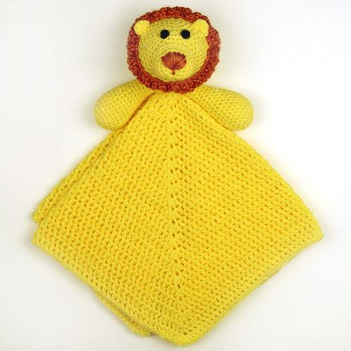 Crochet Spot Blog Archive Crochet Pattern Lion Security Blanket