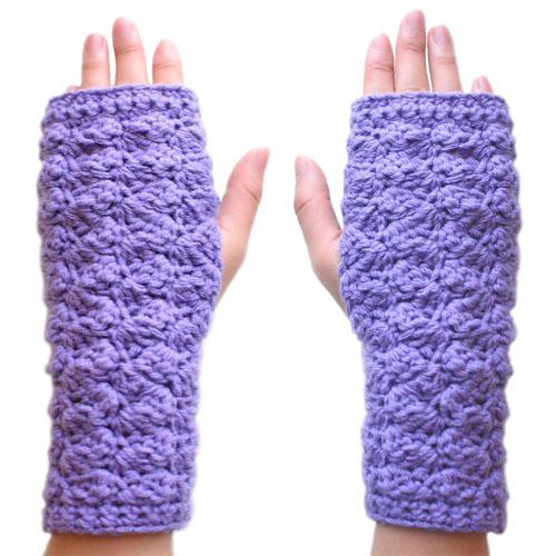 Crochet Spot » Blog Archive » Crochet Pattern: Cozy Fingerless ...