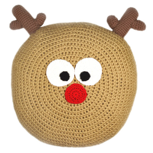Crochet Spot » Blog Archive » Crochet Pattern: Reindeer Pillow ...