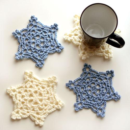 Crochet Spot Blog Archive Crochet Pattern Snowflake Coaster