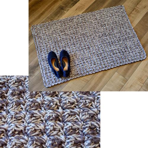 Crochet Spot Blog Archive Crochet Pattern Chunky Cozy Rug