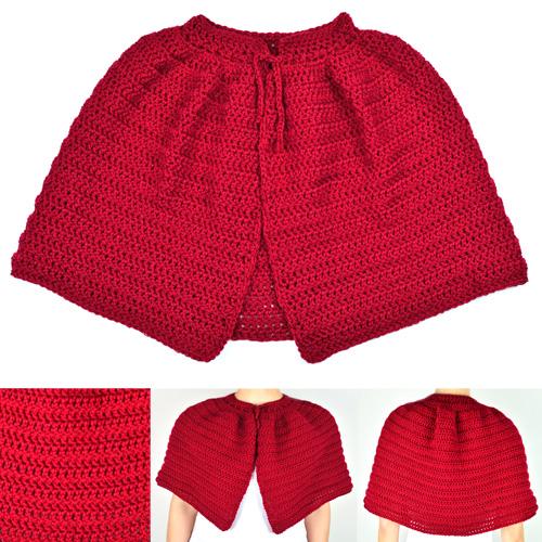 Crochet Spot Blog Archive Crochet Pattern Classic Capelet 9
