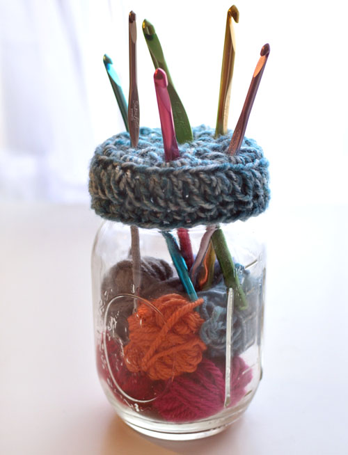 Crochet Spot » Blog Archive » Free Crochet Pattern: Mason Jar ...