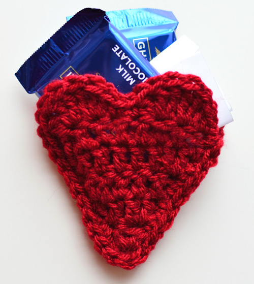 Crochet Spot » Blog Archive » Free Crochet Pattern: Heart Envelope ...