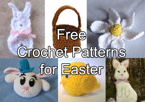 Crochet Spot Blog Archive Free Crochet Patterns For Easter
