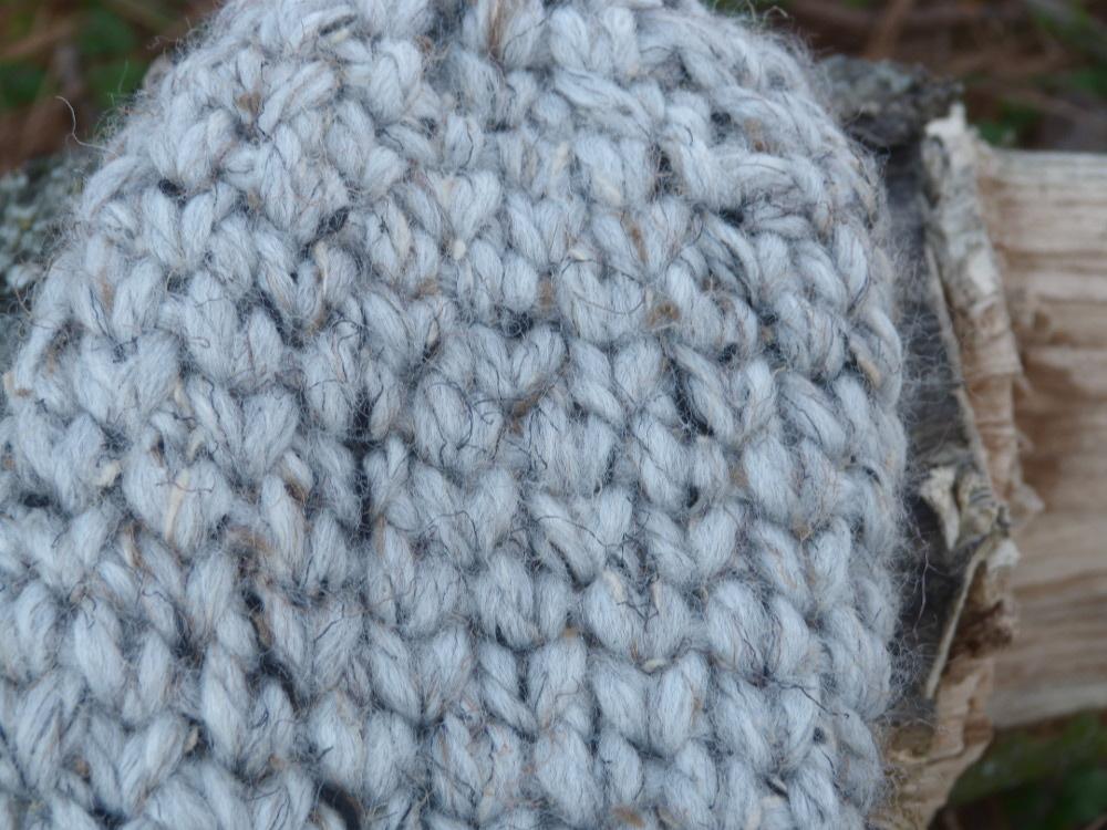 Crochet Pattern: Chunky Knit Stitch Mittens