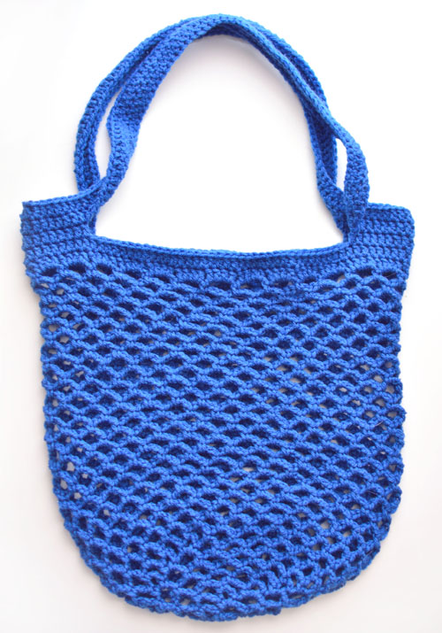 Crochet Spot Blog Archive Crochet Pattern Quick Mesh Tote
