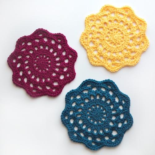 Crochet Spot Blog Archive Crochet Pattern Chunky Doily
