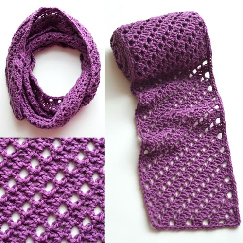 Crochet Spot » Blog Archive » Crochet Pattern: Diagonal Striped