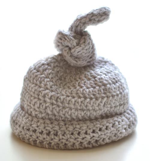 Crochet Spot Blog Archive Free Crochet Pattern Newborn Knot Hat