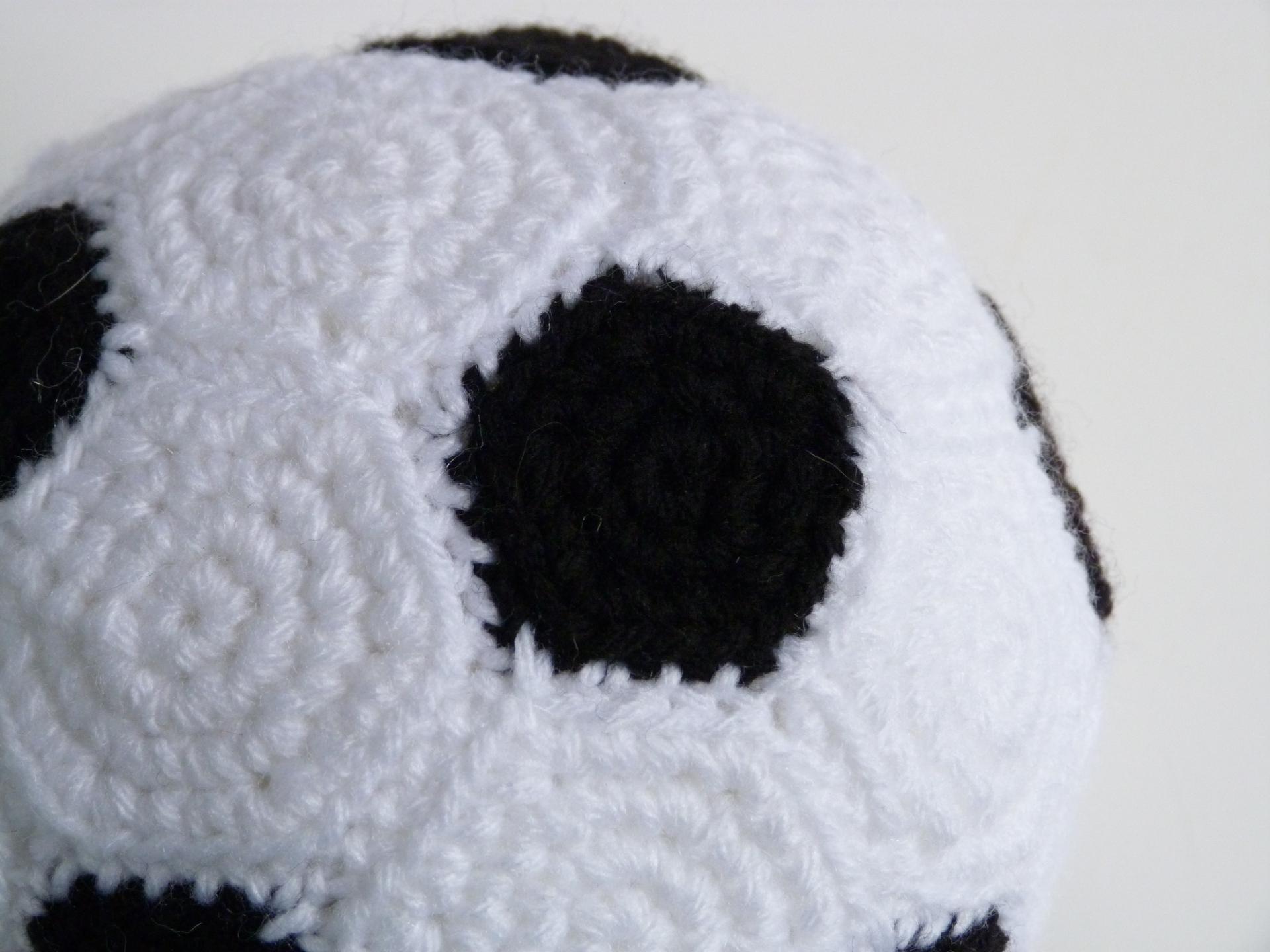 4. Soccer Ball Plushie closeup