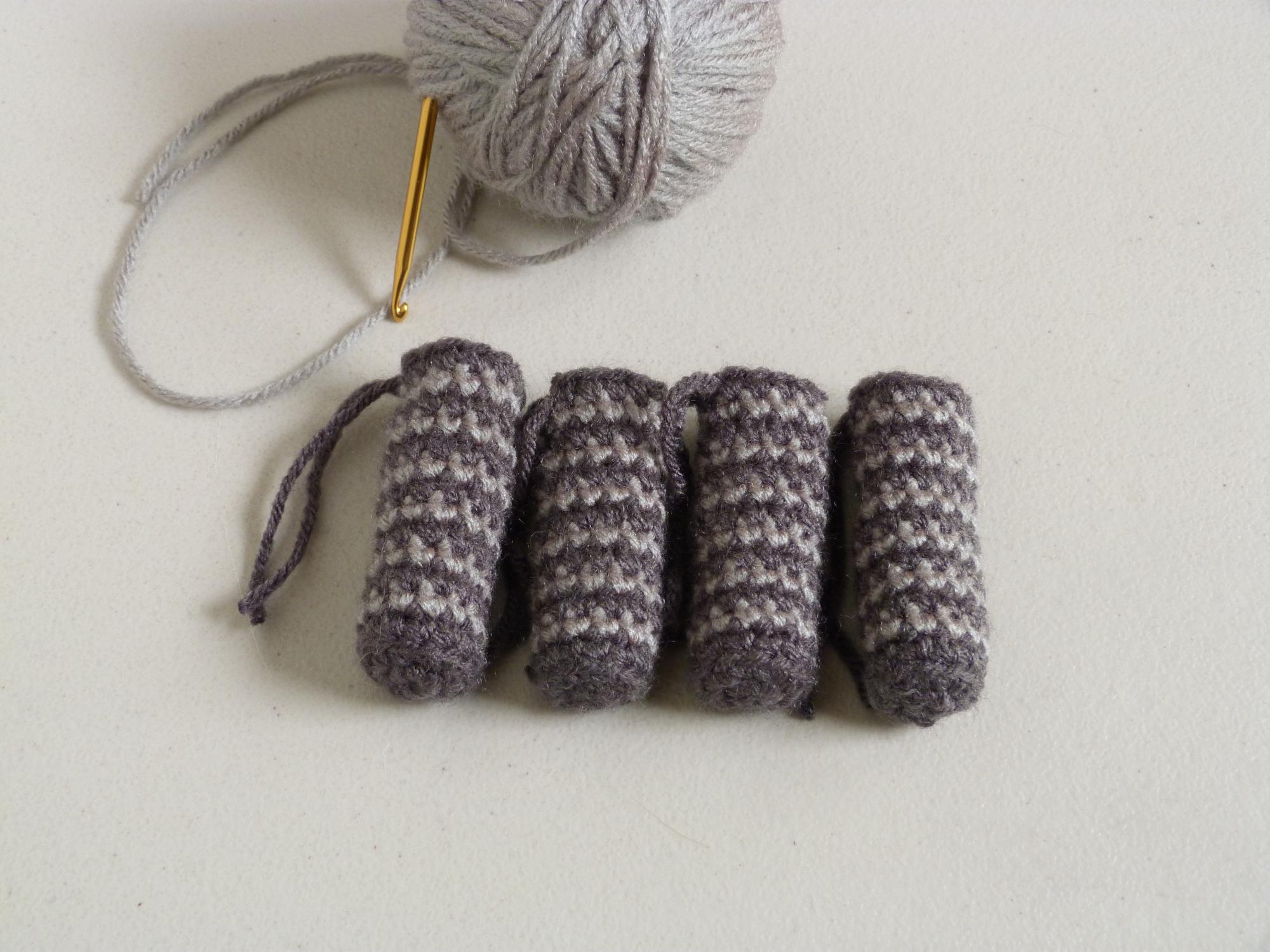 3. Crochet Chair and Table Socks