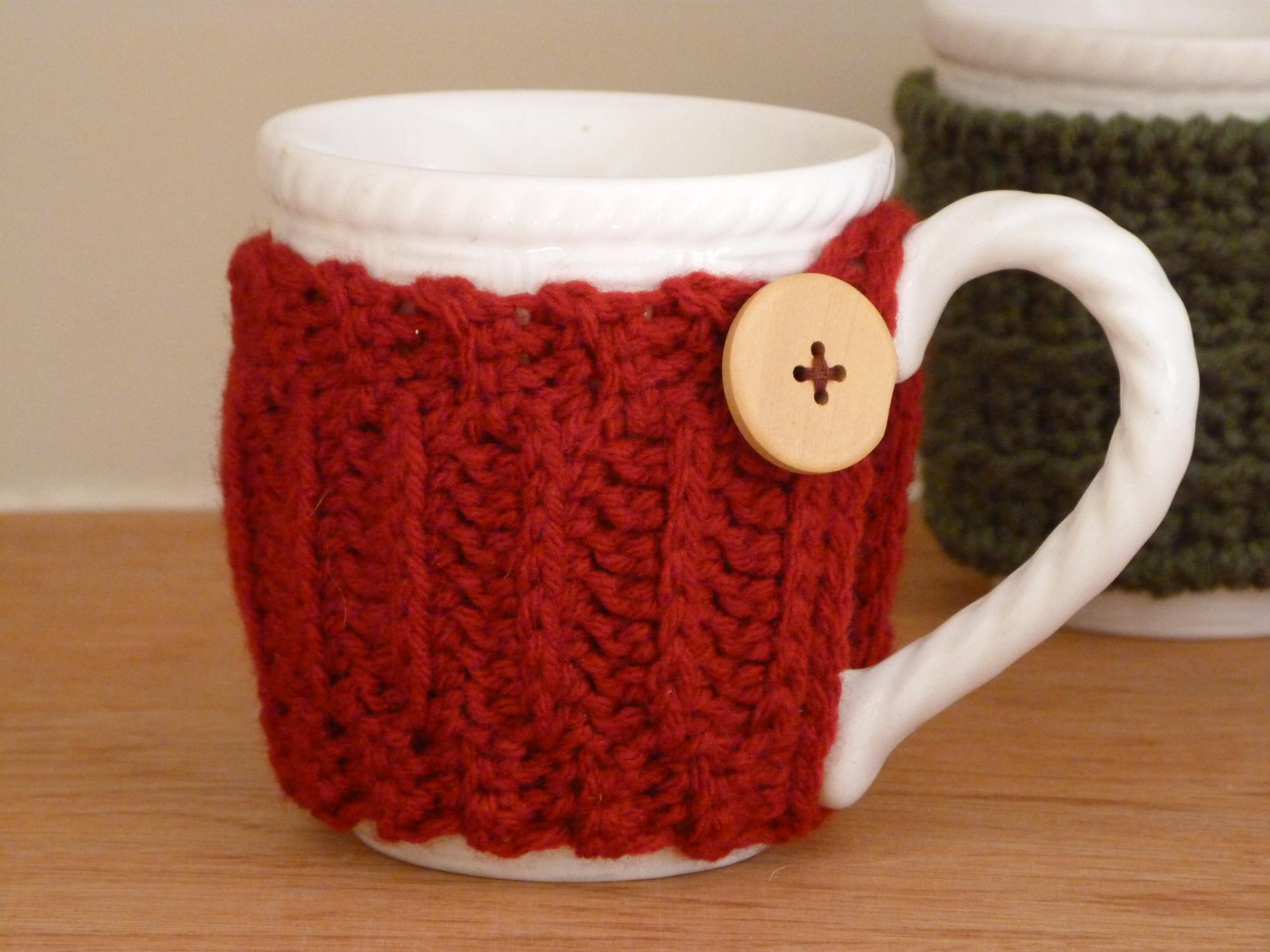 2. Sweater Mug Cozies