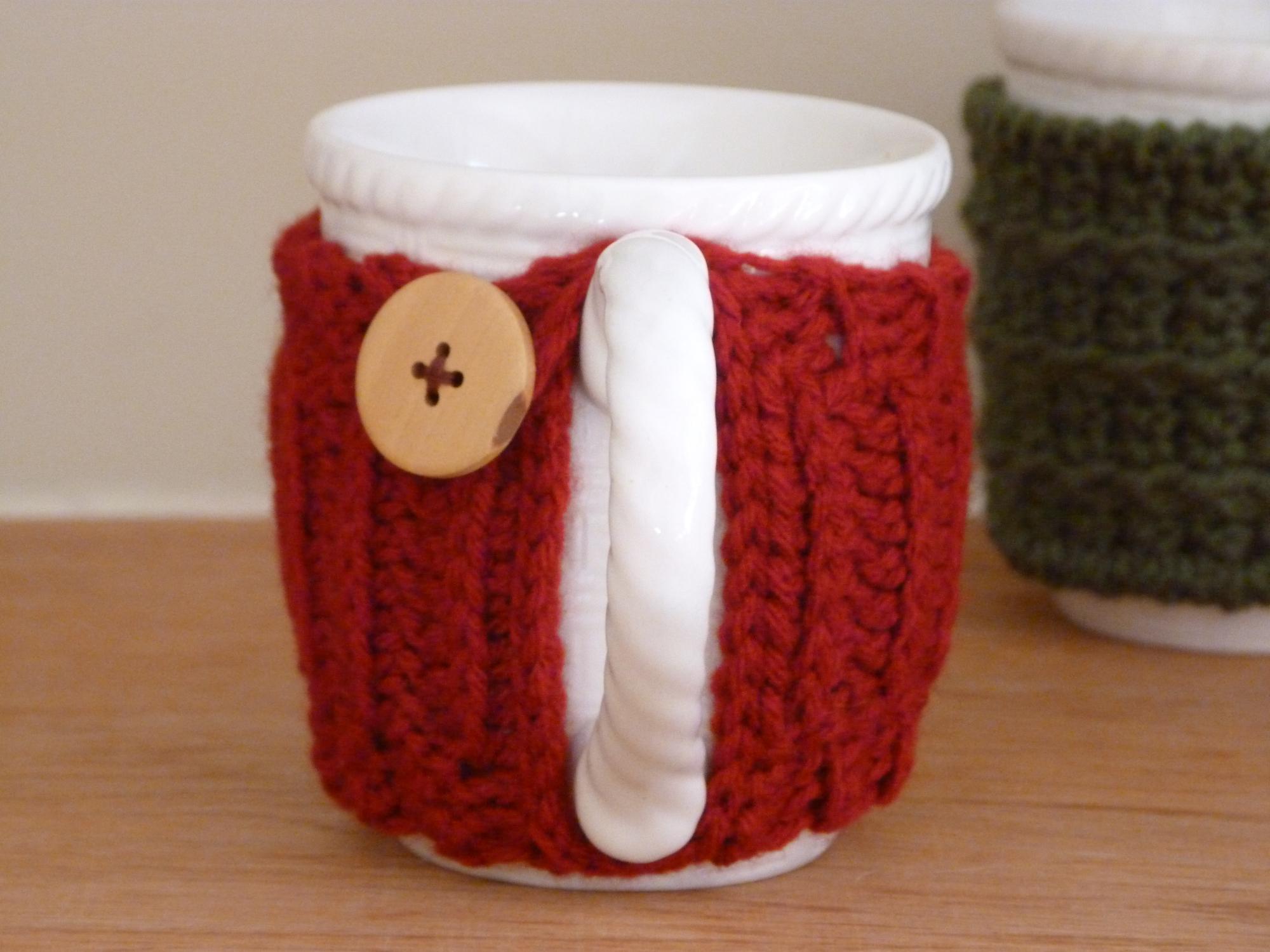 3. Sweater Mug Cozies