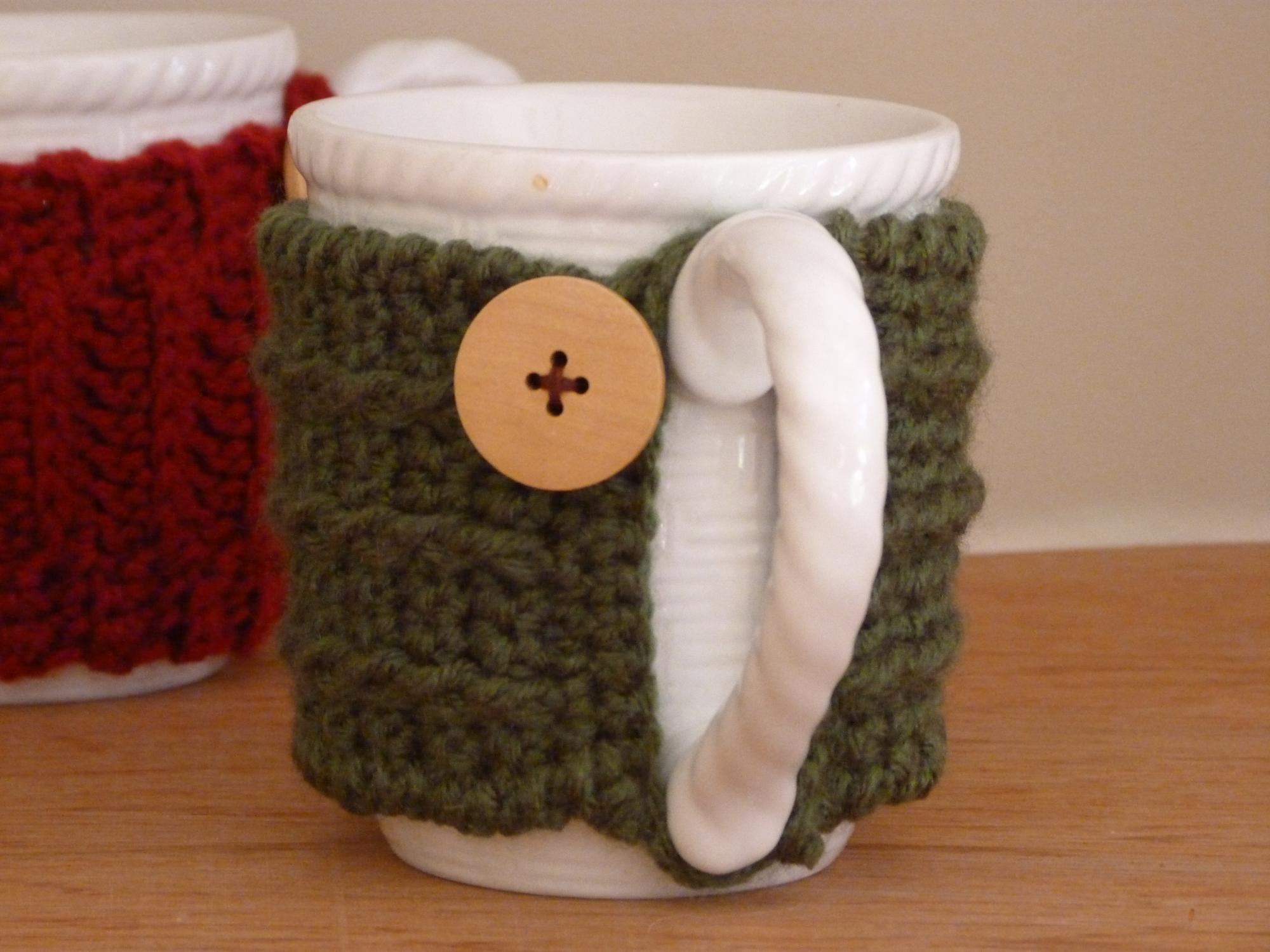 5. Sweater Mug Cozies